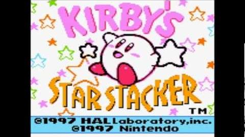 Kirby's Star Stacker Great