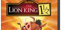The Lion King 1½ (DVD/VHS)