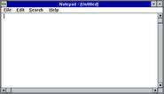Windows31 notepad