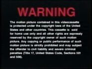 Universal Warning Screen (1990)