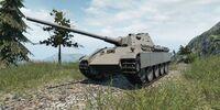 Panther Ausf.F mit 8,8cm KwK 43 L/71