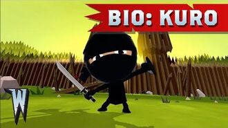 Official World of Warriors Bio Kuro