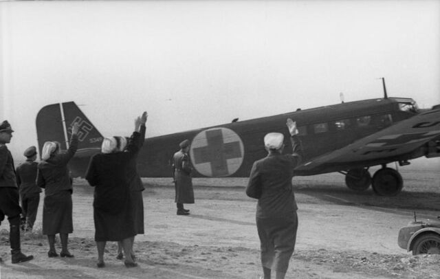 File:Ju 52 Ambulance, Balkans 1941.jpg