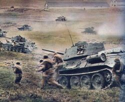 Soviet Combined Arms Charge, Kursk 1943