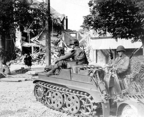 File:Kettenkrad Captured, Normandy 1944.jpg
