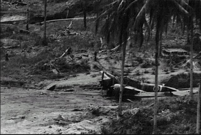 File:Damaged Ki-45 of 13th Sentai (1st View), Wewak-East Airfield 1943.png