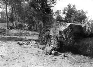 SdKfz 251 Battle of Mortain