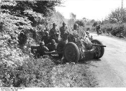 PaK 35-36 Gun Position, France, May 1940