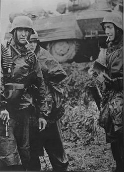 Waffen-SS Soldier with P35