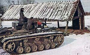Panzer III, Russia 1941