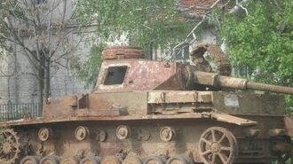 Panzer Wrecks in Bulgaria