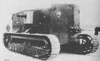 Holt prototype gas electric tank