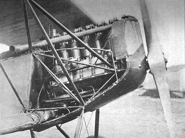 File:640px-LIberty L-6 engine installed in captured Fokker D.VII.jpg