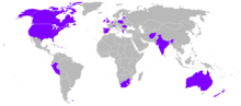 World operators of the DH 9