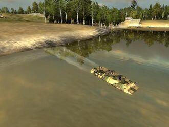 BTR-80 fording