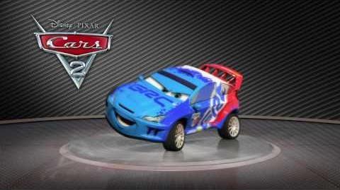 "Cars 2 Turntable ""Raoul CaRoule"""