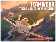 Teamwork Takes You To New Heights!