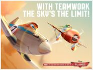 With Teamwork The Sky's The Limit!