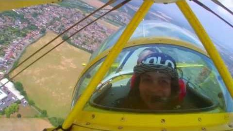 Disney's Planes - Britains Got Talent's Gabz takes the flight of her life!