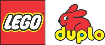 Lego logo duplo