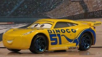 DINOCO CRUZ RAMIREZ, NEW 2017 CARS 3 MATTEL DISNEY PIXAR NEXT-GEN DIECAST UNBOXING REVIEW