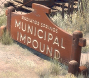 Radiator springs municipal impound
