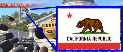 California`s flag