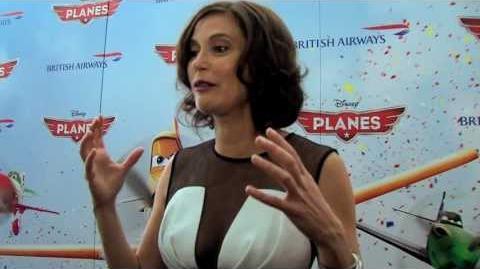 Disney's Planes Teri Hatcher attends OFFICIAL Special Screening Disney HD