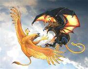 Sun Griffin Ikamazai vs. Night Griffin Vyraska