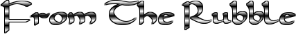 File:FromTheRubbleLogo.png