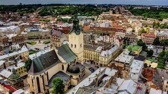 Lviv (Ukrayna) Gezi Vlog 1.gün (Travel, Sightseeing, Şehir Turu, Market Square,,Tower, Львів )