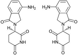 8Lenalidolide Enantiomerers Structural Formulae