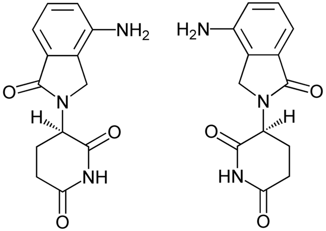 File:8Lenalidolide Enantiomerers Structural Formulae.png