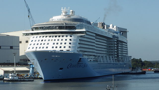 File:Quantum of the Seas in front of Hall 6 (cropped).JPG