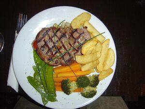 Solomillo-Sirloin steak