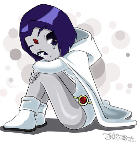 File:Dc teen titans little white scared raven by darkness1999th-d7amkou.jpg