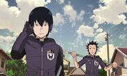 Shuji and Yosuke Anime
