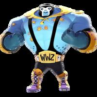 Infected3 rare Luchador