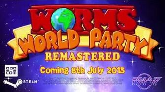 Worms World Party Remastered - Coming to PC 8th July 2015! Team17