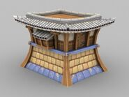 In-game Oriental Keep