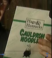 Hags and Horrocks - Cauldron Noodle