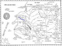River Akuum map