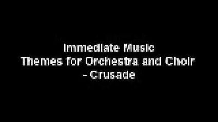 Immediate Music - Crusade