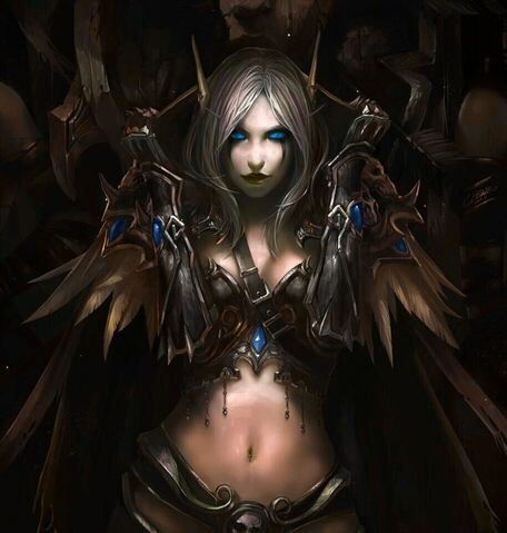 Datei:Sylvanas the ranger 2 by sylvaskiwindrunner.jpg