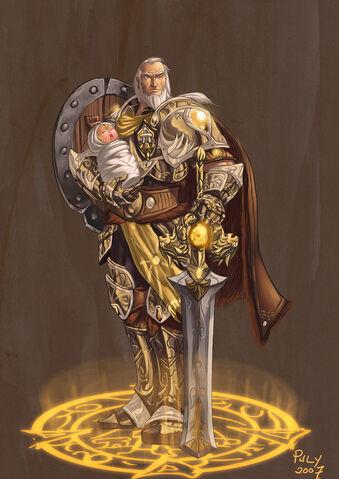 Fájl:Anduin Lothar Lion of Azeroth by pulyx.jpg