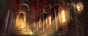 830px-Scarlet Monastery Halls.jpg