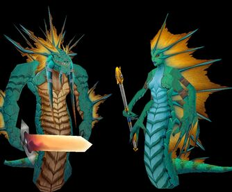 Naga Myrmidon Sirene