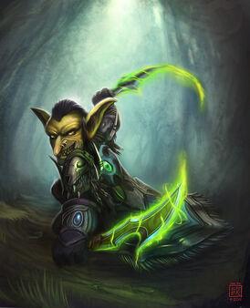 Goblin rogue by iidxgirl-d4bitvd