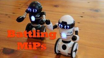 MiP Robots Battle It Out