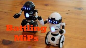 MiP Robots Battle It Out. Watch MiP and Friends Battle To The Death!
